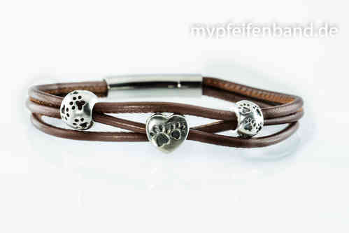 "mypfeifenband`s Armband "" Best of Paws"""